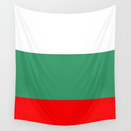 flag of bulgaria 2 -bulgarian, България,български,slav,cyrillic,Sofia,bulgaria Wall Tapestry