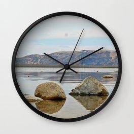 Mountains and Lakes Wall Clock