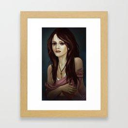 woman 2 Framed Art Print