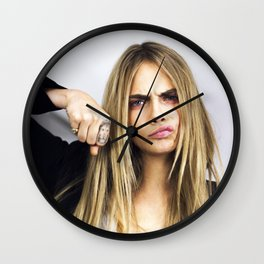 Punky Cara Wall Clock