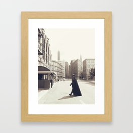 Darth Vader Does New York Framed Art Print