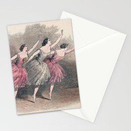 The Three Ballerinas Stationery Cards
