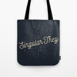 Singular They - Mellow Tote Bag