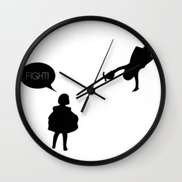 Fight! Wall Clock