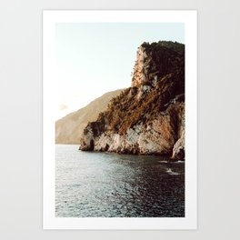 Cliffs by the Sea- Portovenere, Italy│travel photography fine art print Art Print