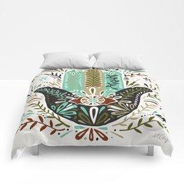 Hamsa Hand – Earth Palette Comforters