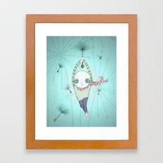 strange ride Framed Art Print