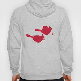 Red Birds. Christmas. Hoody