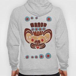 Mayan Baby Jaguar Folk Art Textile Hoody