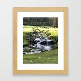 Trickle, Trickle Framed Art Print