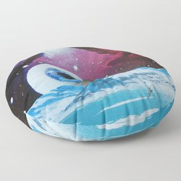 Blue Eye Floor Pillow