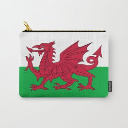 Welsh Flag of Wales Carry-All Pouch