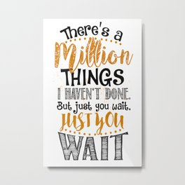 Million Things Metal Print