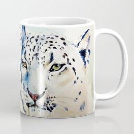 Snow Leopards Watercolor (Color) Coffee Mug