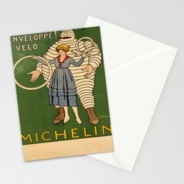 michelin. two posters Affiche Stationery Cards