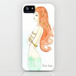Mermaid Dreaming iPhone Case