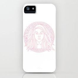 MARSACE (pink) iPhone Case