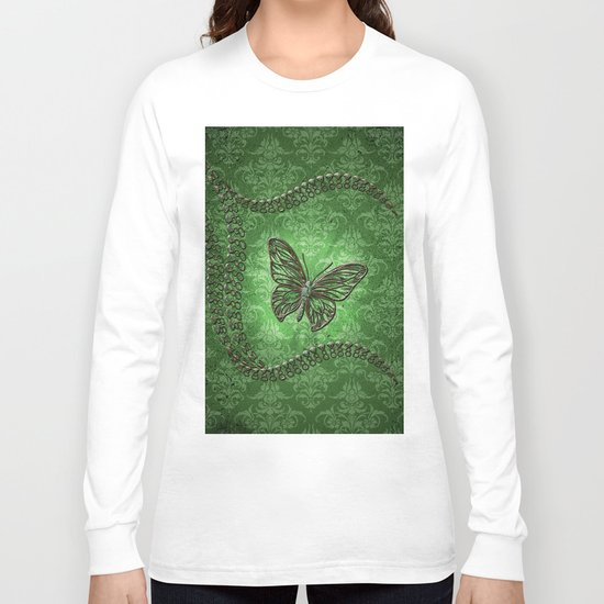 Decorative butterfly Long Sleeve T-shirt
