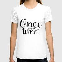 once upon a  time T-shirts featuring Once Upon a Time by bookwormboutique