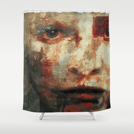 The Human Race 3 Shower Curtain