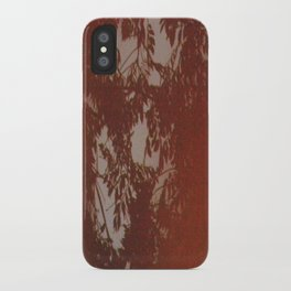 ORANGE FILM iPhone Case