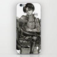 levi iPhone & iPod Skins featuring Levi Ackerman by OtakuRuki