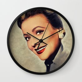 Anne Jeffreys, Vintage Actress Wall Clock