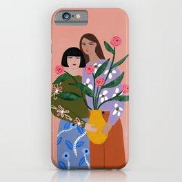 The Friendship Vase iPhone Case