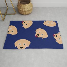 Chauncey The Golden Retriever Rug