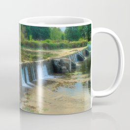 Wehr's Dam in October Coffee Mug