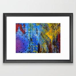 Scrape III Framed Art Print