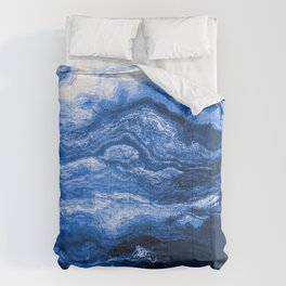 Seascape At the Cusp of Midnight Comforters