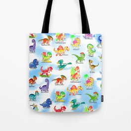 Chibidinos Watercolors Summer 2018 Tote Bag