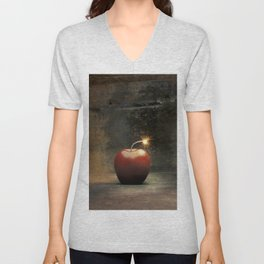 Apple bomb Unisex V-Neck