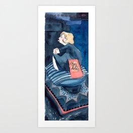 Chez Doods Art Print