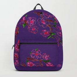 Sakura Branch Painting Backpack