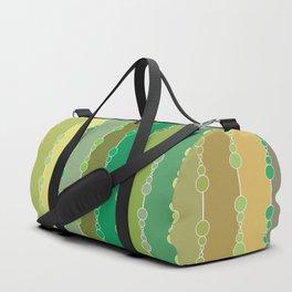 Multi-faceted decorative lines 8 Duffle Bag
