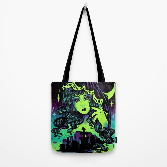 Grave Spirit Color Tote Bag