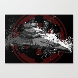 Imperial Star Destroyer Canvas Print