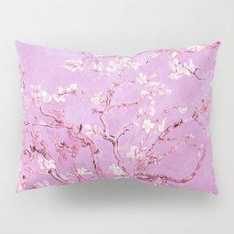 Vincent Van Gogh Almond BlossomS. Pink Lavender Pillow Sham
