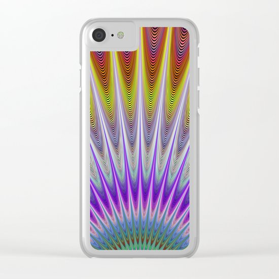 Morning of a spectacular day Clear iPhone Case