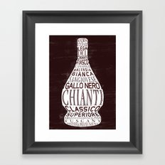 Chianti Framed Art Print