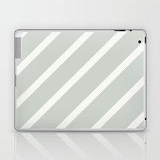Stripe Diagonal Sea Salt Laptop & iPad Skin