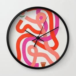 Labirint 2 Wall Clock