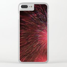 July 4th Celebrations Clear iPhone Case