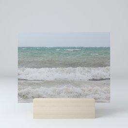 Rough Beach Mini Art Print