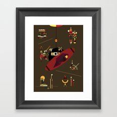a2112 Framed Art Print