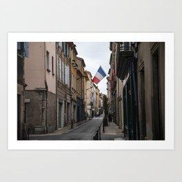New Carcassonne, France Art Print