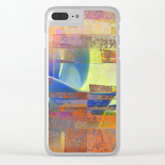 quiet agave Clear iPhone Case