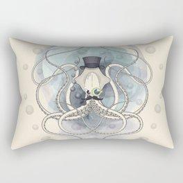 Classy Victorian Squid Rectangular Pillow